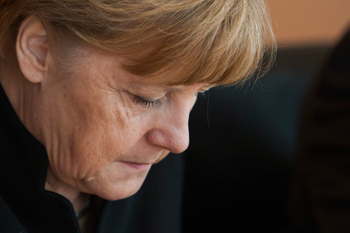 German Chancellor Angela Merkel.(AFP Photo / Odd Andersen)