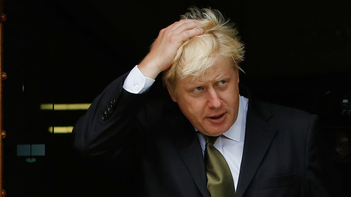 London Mayor Boris Johnson. (Reuters / Luke MacGregor)