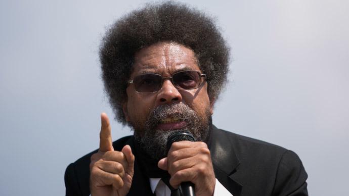 Cornel West slams 'counterfeit' Obama's presidency