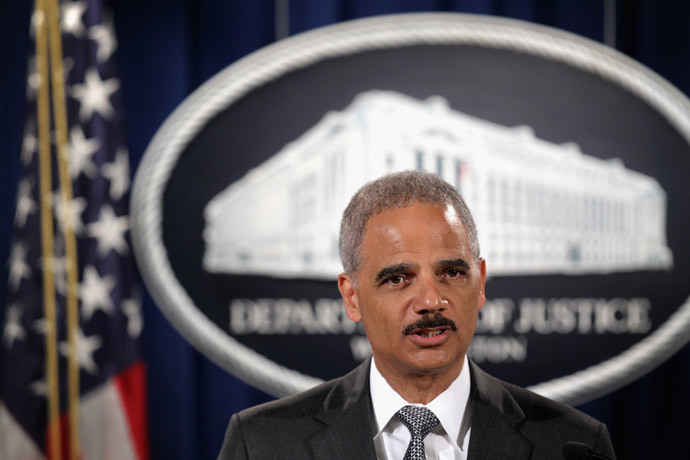 Attorney General Eric Holder.(AFP Photo / Alex Wong)