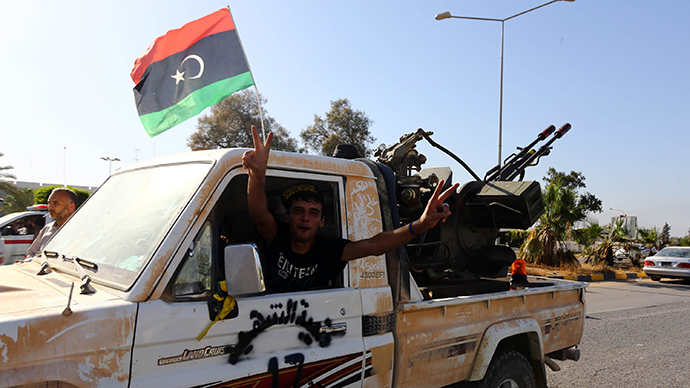 ​Libyan fighter jet crashes into city block, kills pilot, kid (VIDEO)
