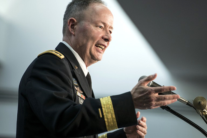 General Keith B. Alexander (AFP Photo / Brendan Smialowski)