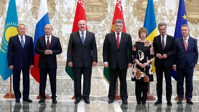 Russian and Ukrainian leader meet for face-to-face talks in Belarus - Kremlin