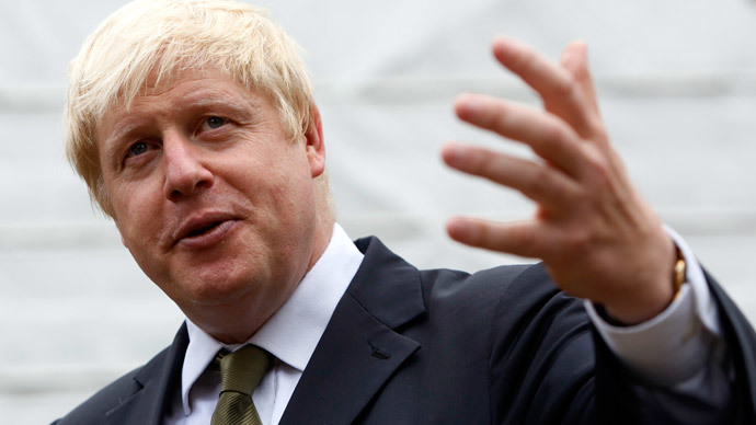 London Mayor, Boris Johnson, recently suggested that Britons who travel to Syria and Iraq should be presumed guilty of terrorist activities unless they can prove otherwise. (Reuters / Luke MacGregor)