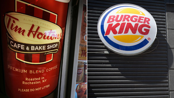 Burger King buys Tim Hortons for $11bn