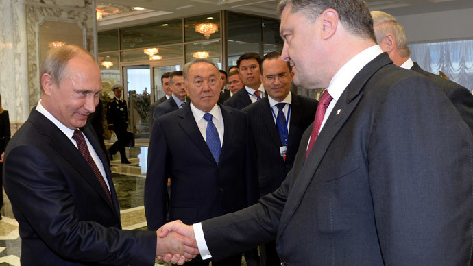 Russian and Ukrainian leader meet for face-to-face talks in Belarus - Kremlin