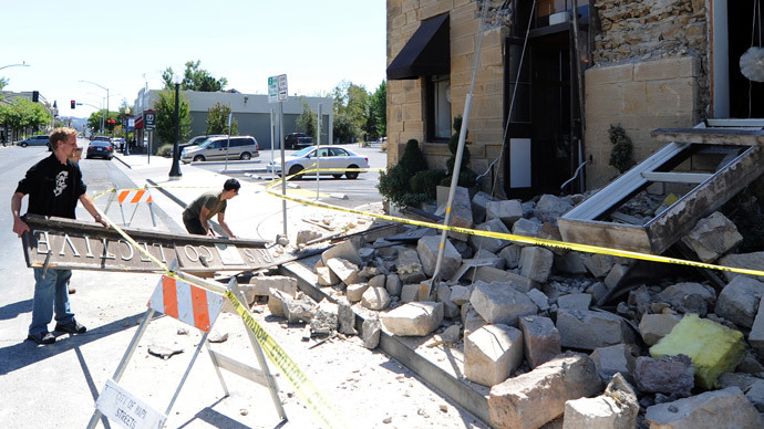 California plans to build quake early-warning system after Napa Valley shaken