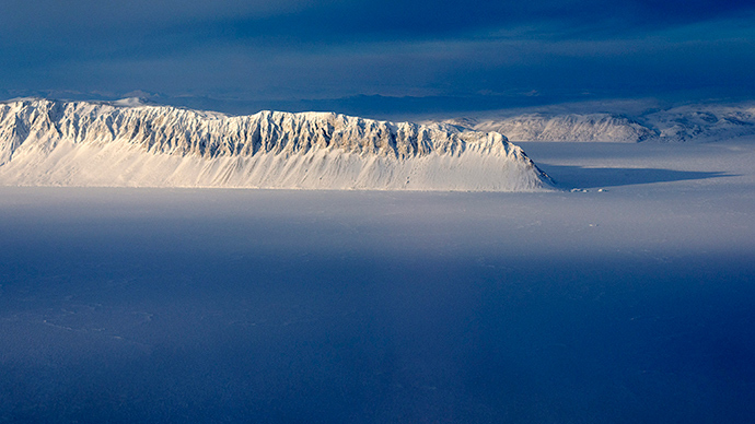 Ellesmere Island in the Canadian Arctic (Reuters / Michael Studinger)