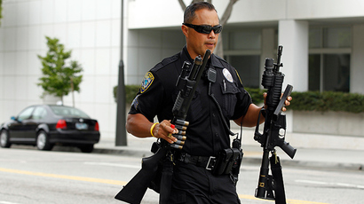 Police agencies that use military weapons at riots may be forced to repay federal grants