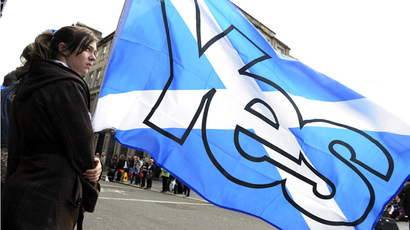Banks plan escape to London if Scots choose independence