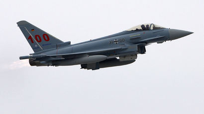 Eurofighter hull hitch: Germany halves fighter flying hours