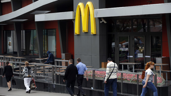 ​Court temporarily closes 3 McDonald's outlets in Moscow