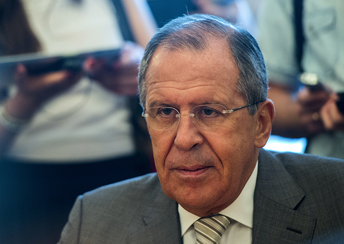 Russian Foreign Minister Sergey Lavrov (RIA Novosti / Evgeny Biyatov)