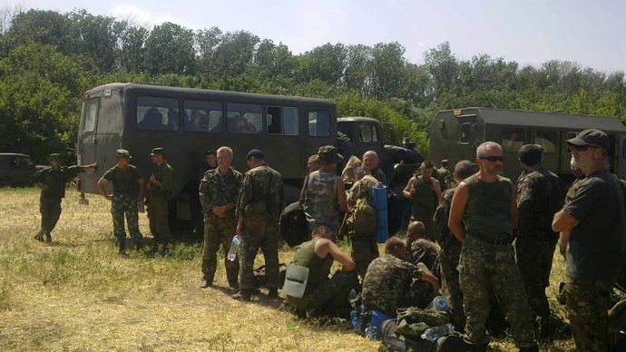 Over 60 Ukrainian troops cross into Russia seeking refuge