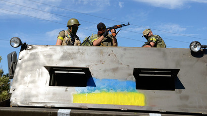 Russia's Defense Ministry ridicules NATO's photo-proof of invasion in Ukraine