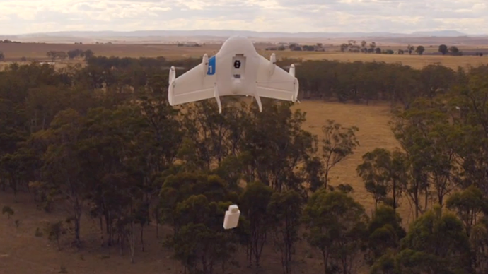 'Project Wing': Google tests drone deliveries in outback Australia