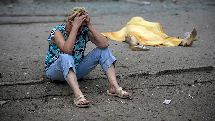UN: Ukraine conflict death toll hits 2,600, civilians 'trapped inside conflict zones'