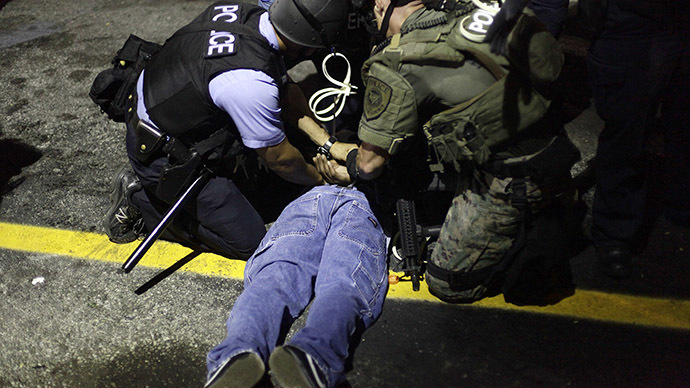 'Police riot': Ferguson citizens want $40mn for police brutality and humiliation