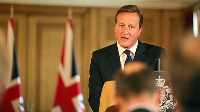 ​UK doesn't need Assad's permission to launch airstrikes in Syria – Cameron
