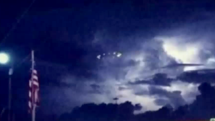 UFOs above Houston puzzle Texans (VIDEOS)