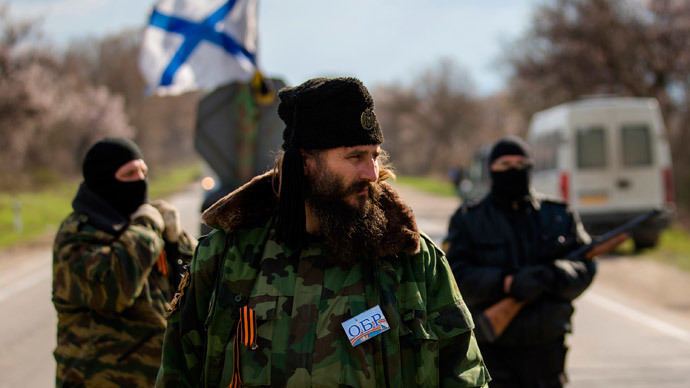 Milutin Malisic, a member of a Serbian Chetnik paramilitary group. (Reuters / Thomas Peter)
