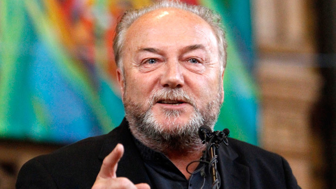 George Galloway.(Reuters / Mike Cassese )