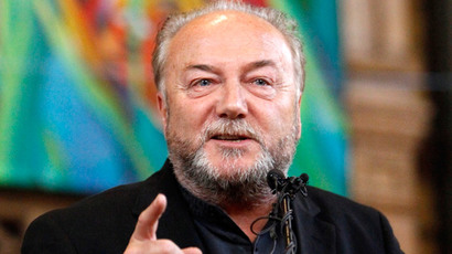 'I want to cut your throat': Galloway beaten by pro-Israeli fanatic for Gaza views