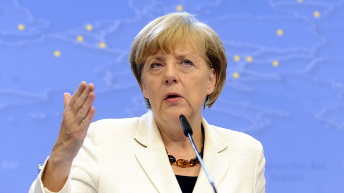 Germany's Chancellor Angela Merkel. (Reuters/Eric Vidal)