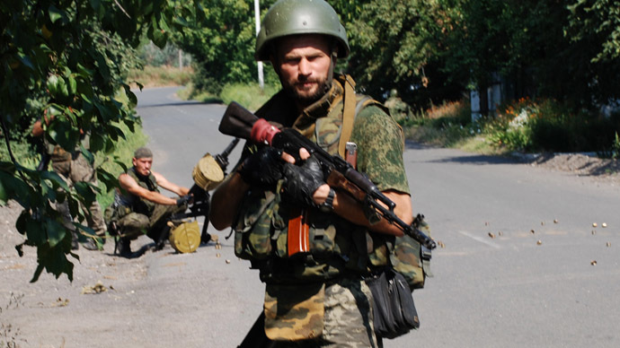Where do Ukraine's rebels get arms from? Old Soviet bases, says Russia's top brass