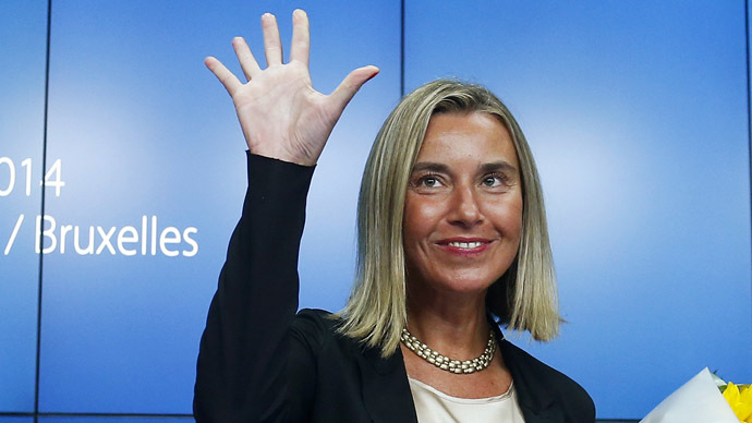 Italy's Mogherini voted in as new EU foreign affairs chief