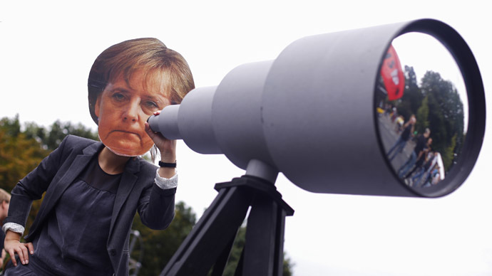 Thousands of Germans rally to end government spying