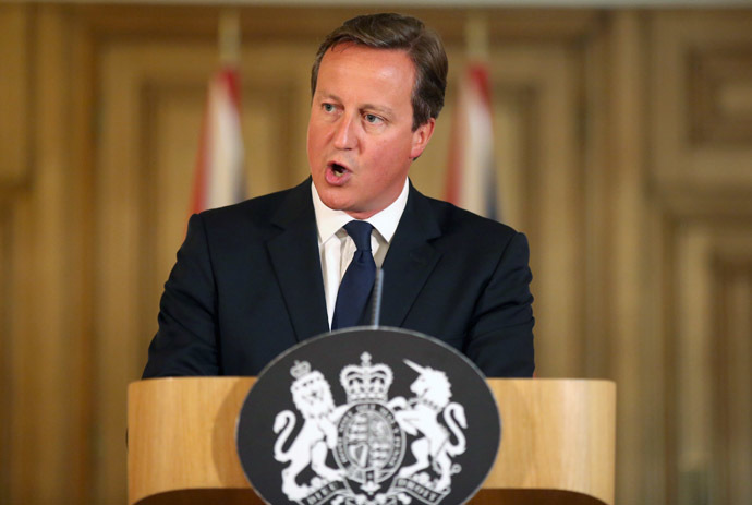 Britain's Prime Minister David Cameron (Reuters/Paul Hackett)