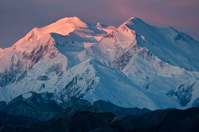 Mount McKinley in Alaska (Reuters / National Park Service)