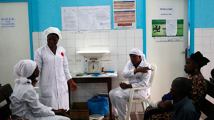 Liberia's nurses go on strike amid Ebola outbreak