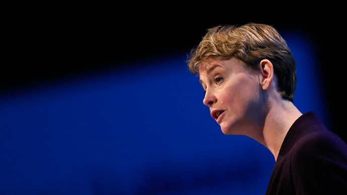 Britain's shadow Home Secretary, Yvette Cooper.(Reuters / Stefan Wermuth)