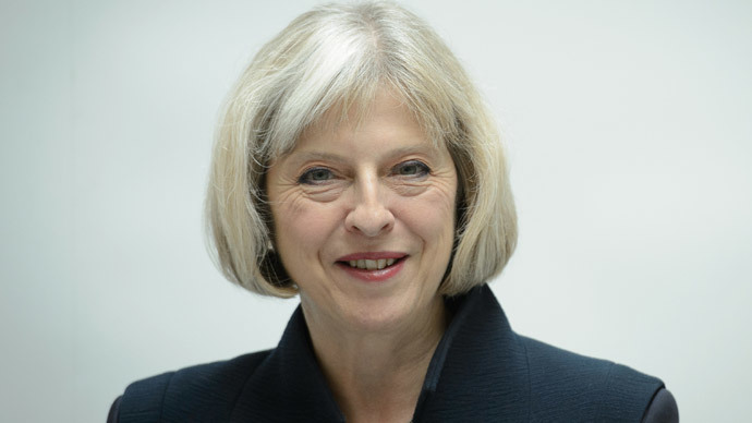 Britain's Home Secretary, Theresa May.(AFP Photo / Leon Neal )