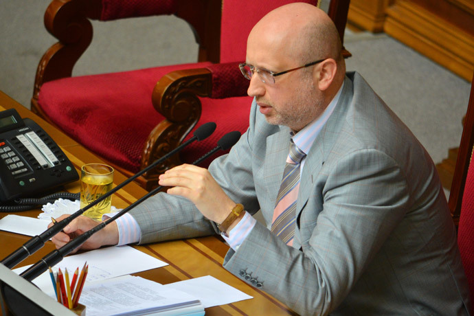 Aleksandr Turchinov.(RIA Novosti / Evgeny Kotenko)