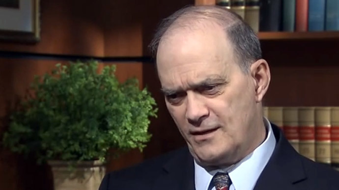 William Binney.(Screenshot from RT video)