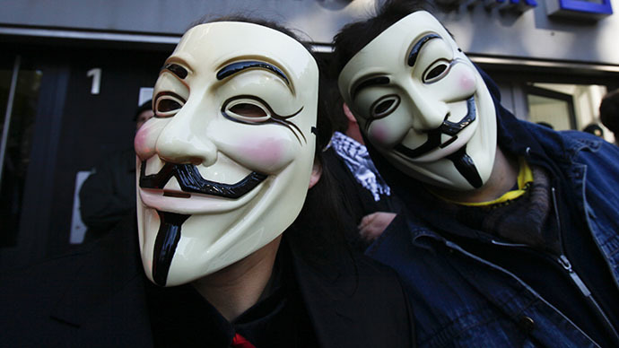 GCHQ backlash? Anonymous website shut down following privacy rights protest