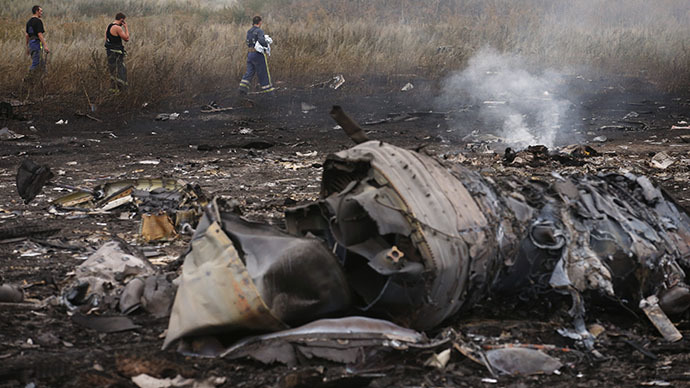 MH17 broke up in mid-air due to external damage - Dutch preliminary report