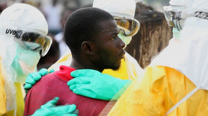 American doctor infected with Ebola lands in US for treatment