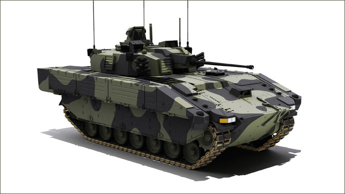 £3.5bn armored vehicle order as Cameron calls for more NATO spending