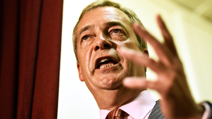 "UKIP's Farage tells Fox News host Britain must ""stand up"" for its values against ISIS"