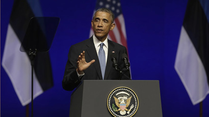 Obama: We are readying new sanctions on Russia despite peace agreement in Ukraine