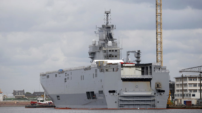 France says it cannot deliver Mistral warship to Russia over Ukraine