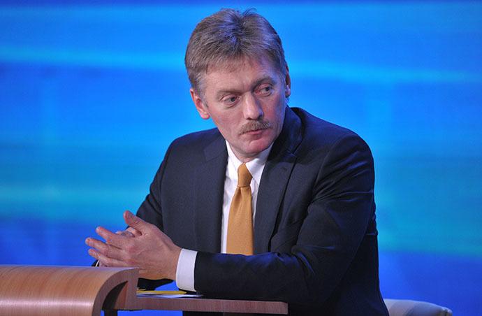 President Vladimir Putin's spokesman Dmitry Peskov (RIA Novosti / Aleksey Nikolskyi)