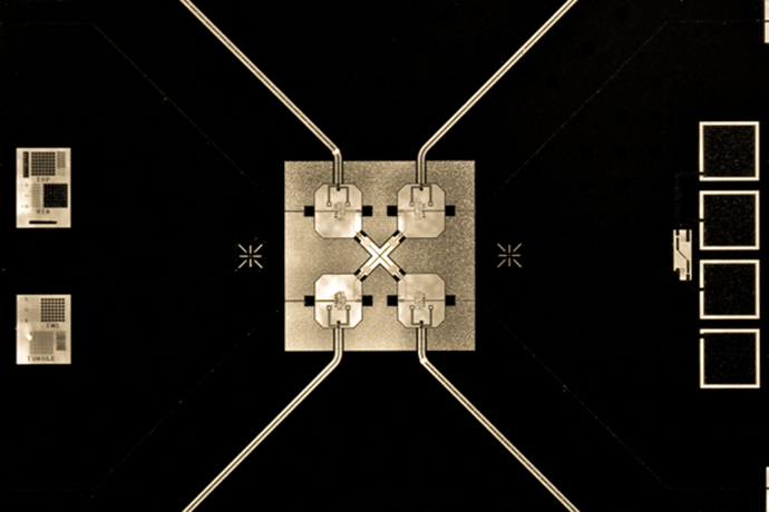 UCSB's recent work on generating three-qubit entanglement (Photo by Erik Lucero / web.physics.ucsb.edu)