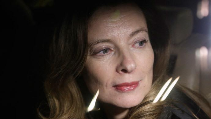 Valerie Trierweiler.(Reuters / Danish Siddiqui)