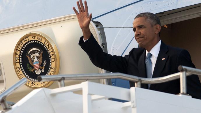US President Barack Obama .(AFP Photo / Saul Loeb)