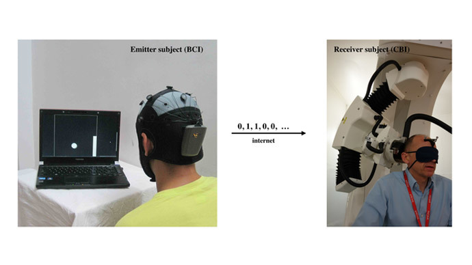 Eureka! Researchers conduct first direct brain-to-brain communication over the internet